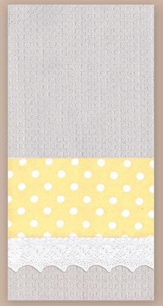 # 3061 Grey Waffle Towel