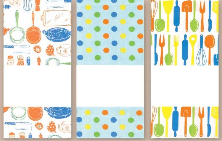 # 3065 Kitchen Towel Trio