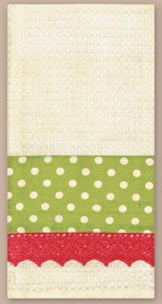 # 3066 Ivory Waffle Towel