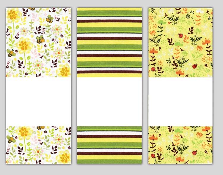 # 3070 Bees Towel Trio
