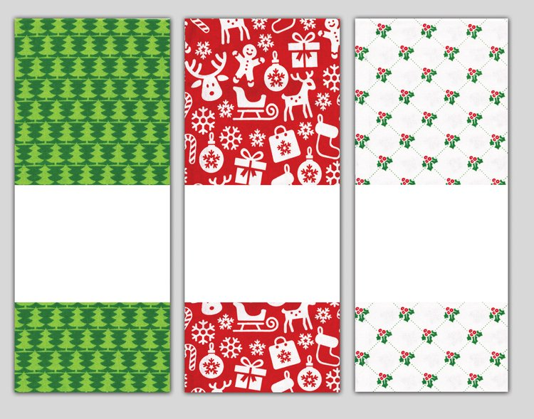 # 3071 Holiday Towel Trio