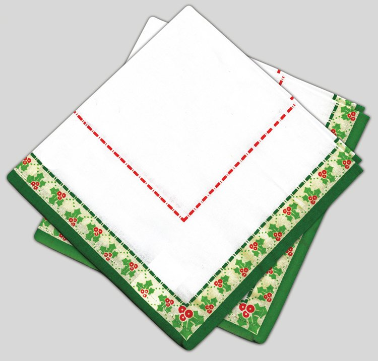 # 3075 Holiday Napkins