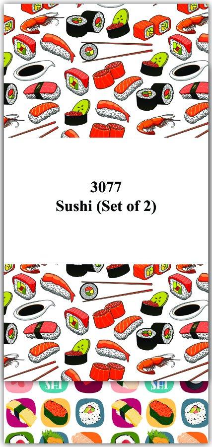 # 3077 Sushi Towel Duet