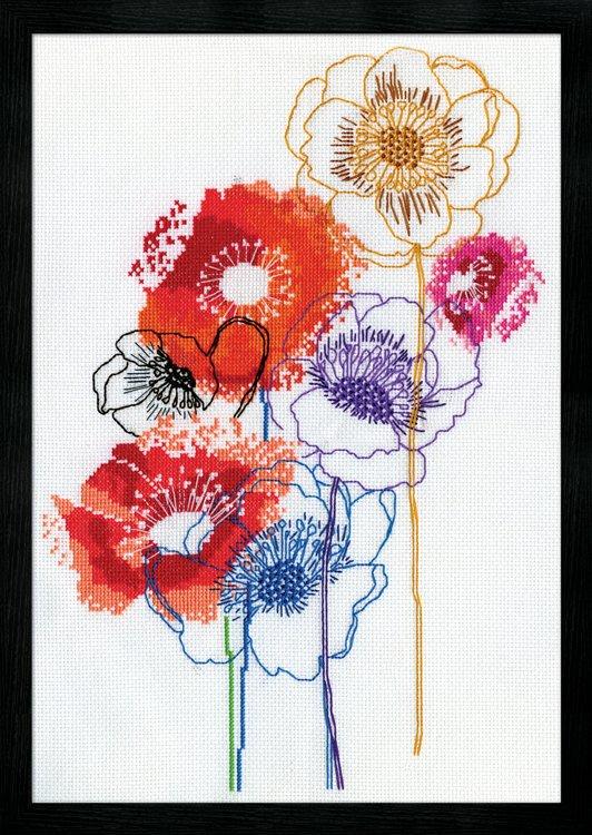 # 3241 Modern Floral