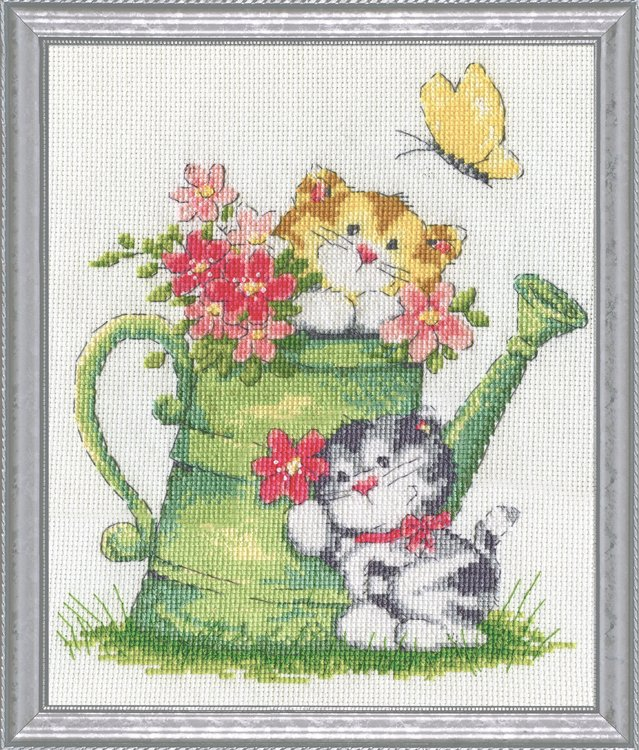 # 3247 Watering Can Cats