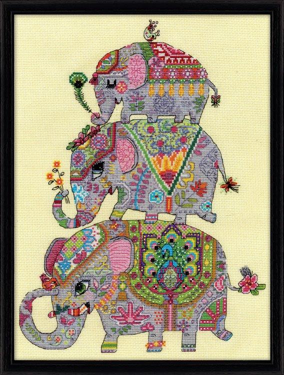 # 3259 Elephant Trio