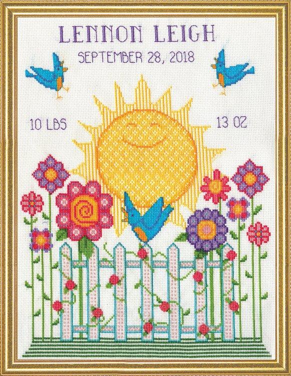 # 3261 Sunshine Birth Sampler