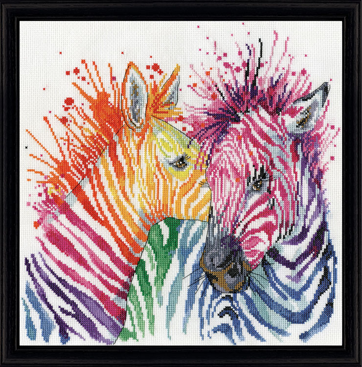 # 3266 Colorful Zebras