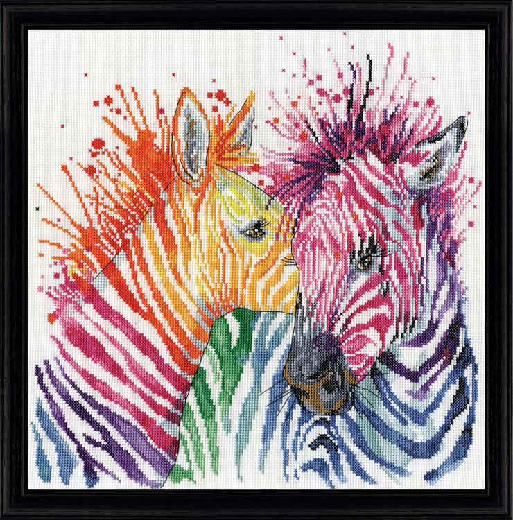# 3266 Colorful Zebras
