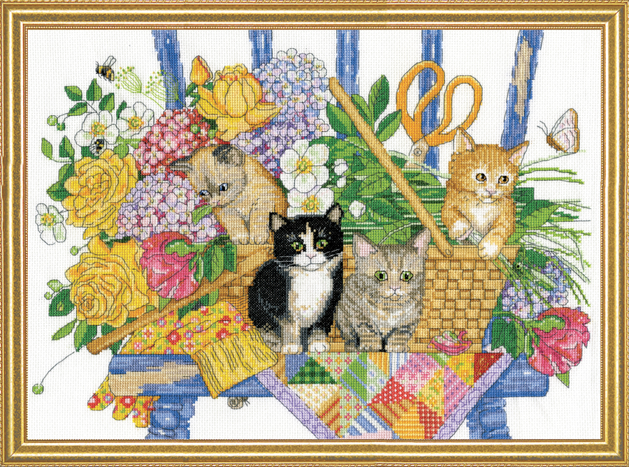 # 3268 Garden Kittens