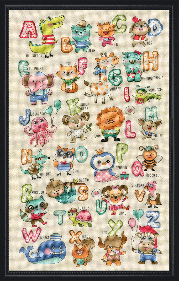 # 3269 ABC Cute Animals