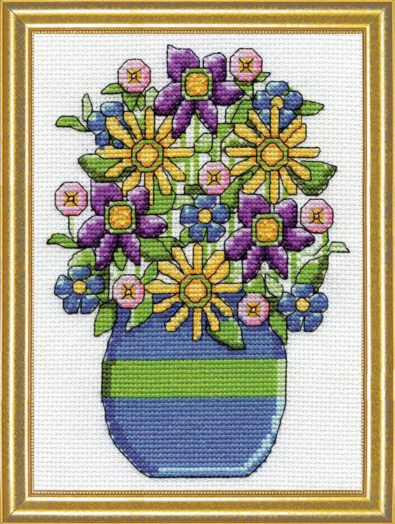 # 3295 Blue Vase