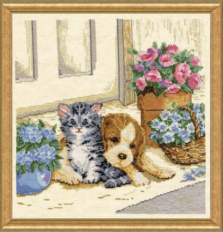 # 3379 Puppy & Kitten