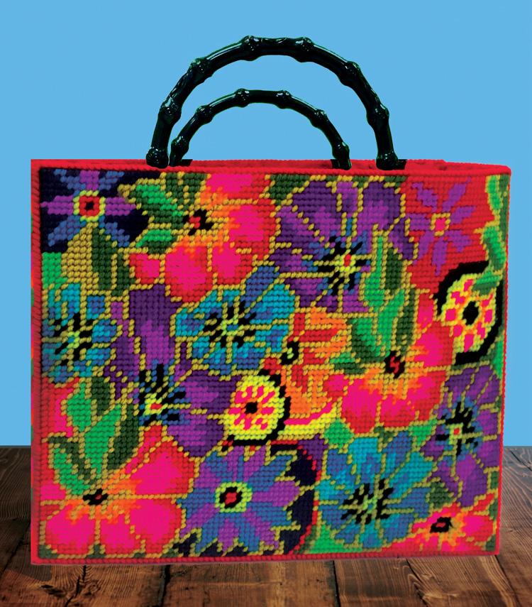 # 3387 Floral Tote Bag