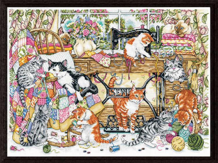 # 3408 Sew Many Kittens