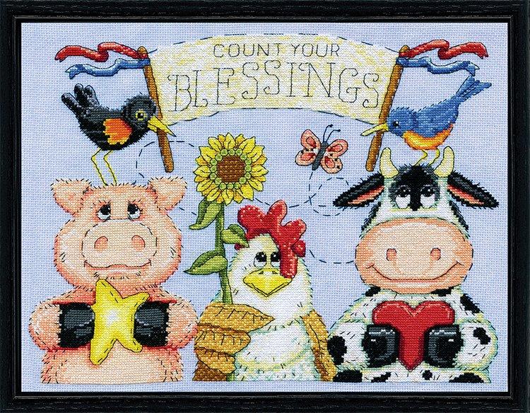 # 3423 Barnyard Blessings