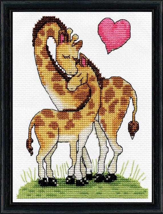 # 3455 Giraffe Love