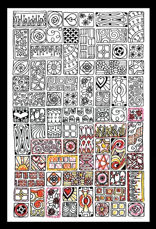 # 4001 Zenbroidery Cubist