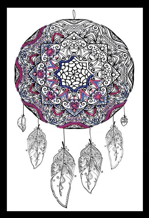 # 4005 Zenbroidery Dreamcatcher