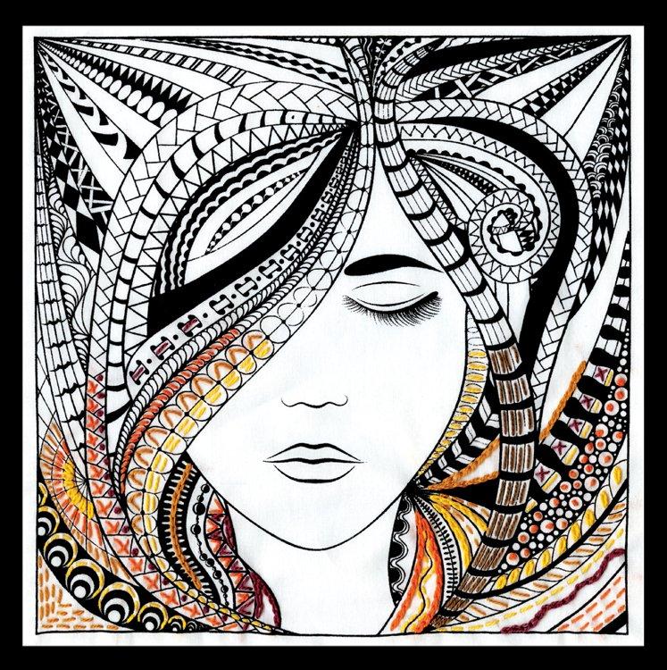 # 4006 Zenbroidery Woman