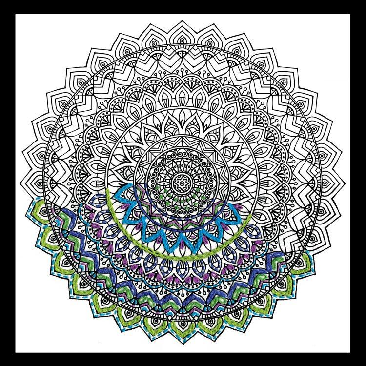 # 4008 Zenbroidery Mandala
