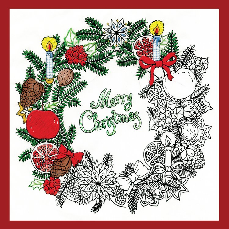 # 4026 Zenbroidery Christmas Wreath