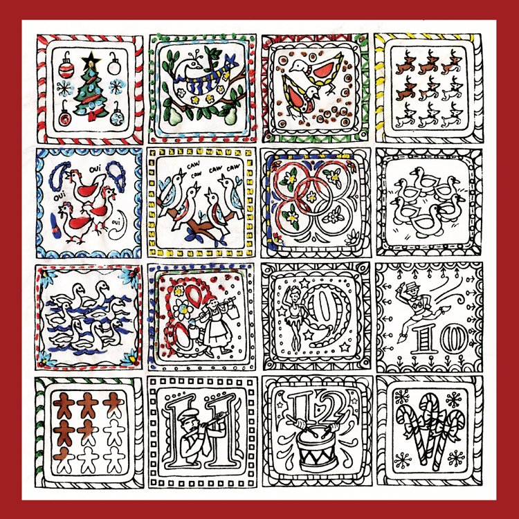 # 4027 Zenbroidery 12 Days of Christmas