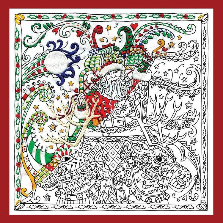 # 4031 Zenbroidery Christmas Santa