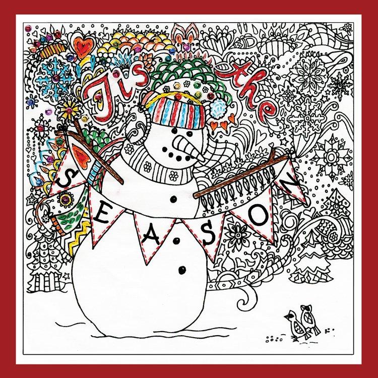 # 4032 Zenbroidery Christmas Snowman