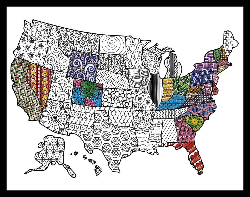 # 4034 USA Map