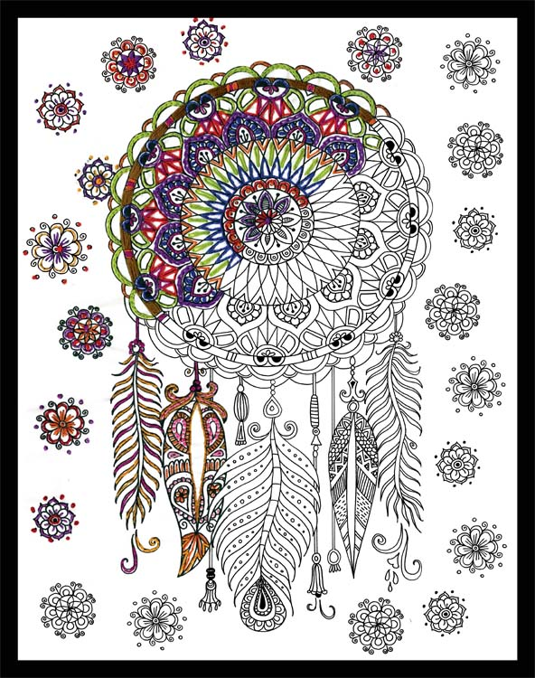 Embroidery Design Works Zenbroidery Dreamcatcher Fabric Pack