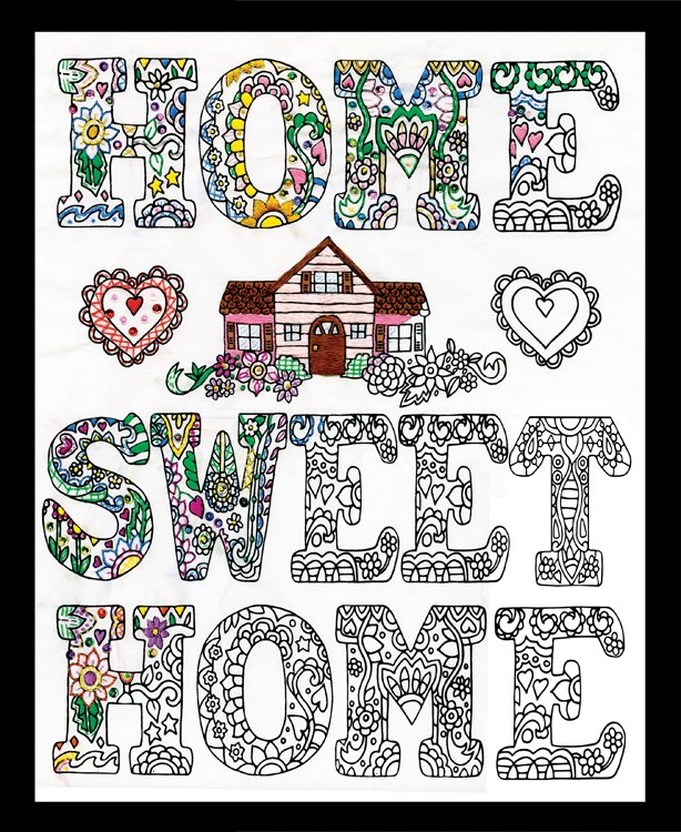 # 4044 Zenbroidery Home Sweet Home