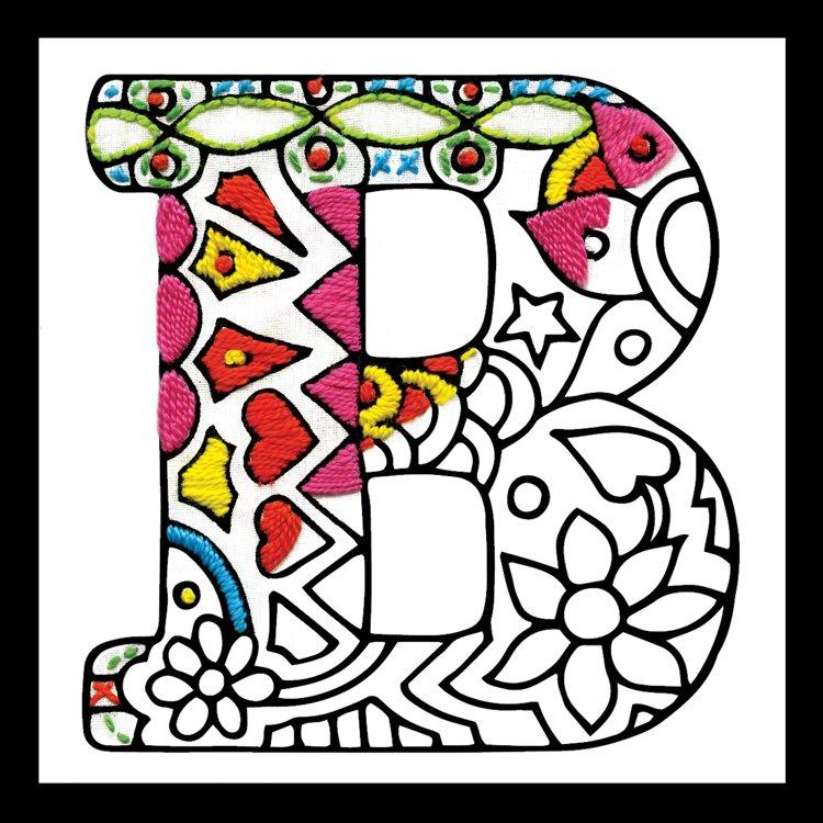 # 4063 Zenbroidery Letter B