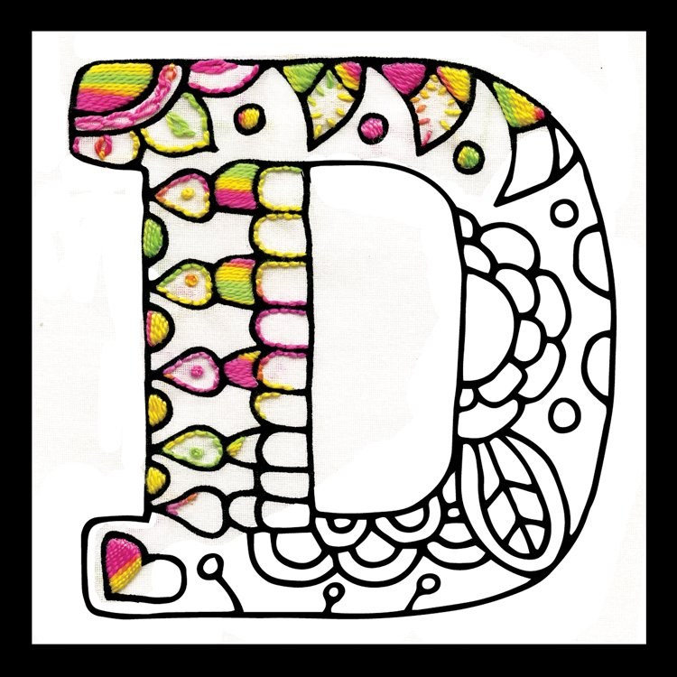 # 4065 Zenbroidery Letter D