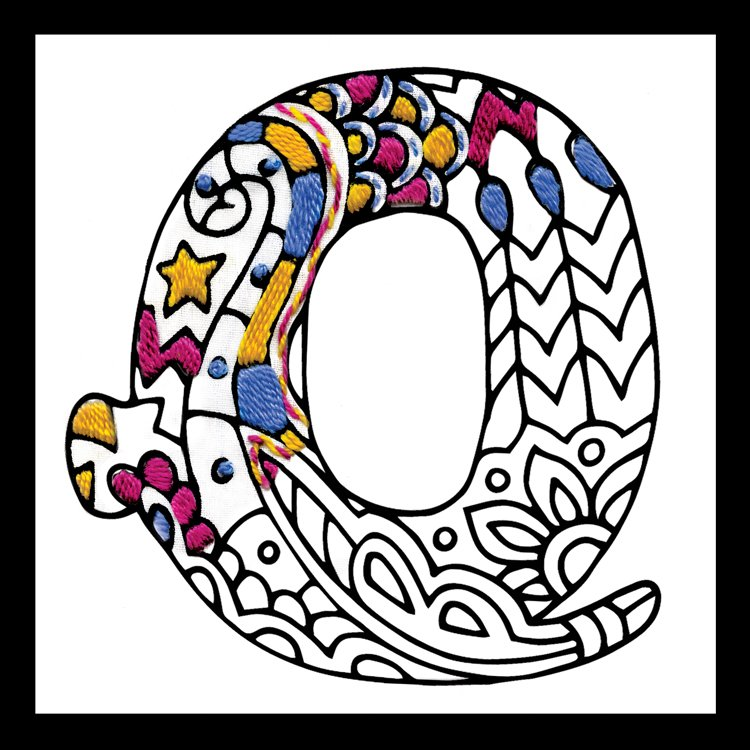 # 4078 Zenbroidery Letter Q