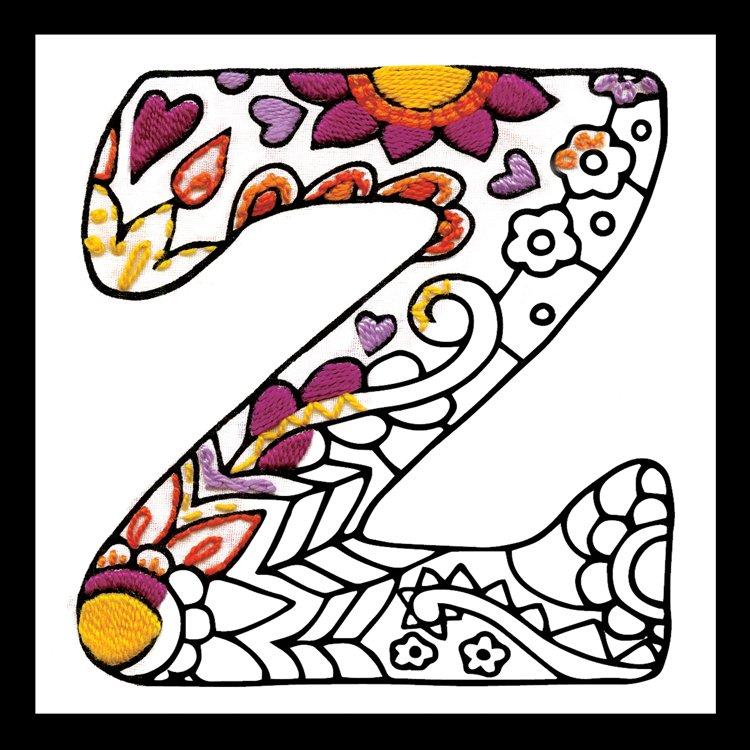 # 4087 Zenbroidery Letter Z
