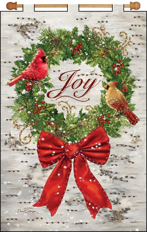 # 4341 Joy Wreath