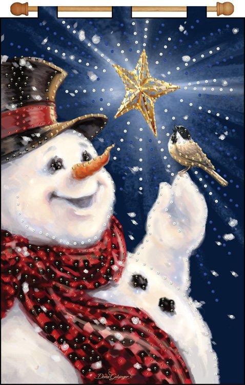 # 4343 Snowman & Bird