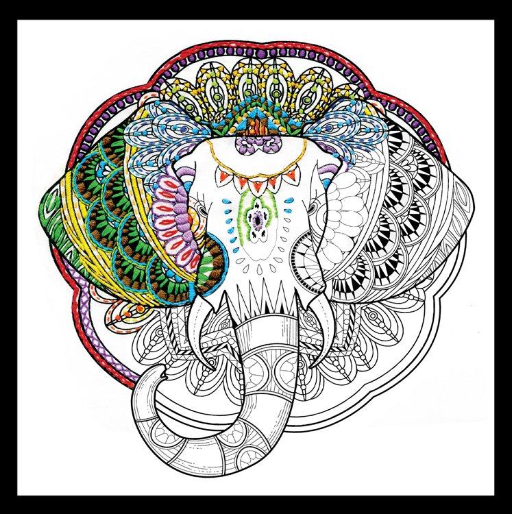 # 4401 Zenbroidery Elephant