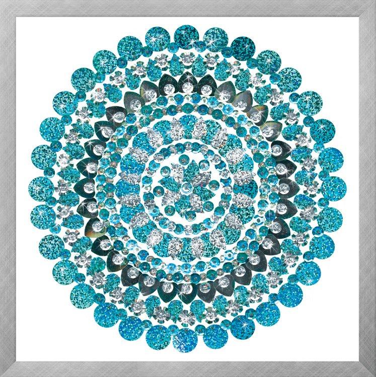 # 4407 Aqua Mandala - Zendazzle
