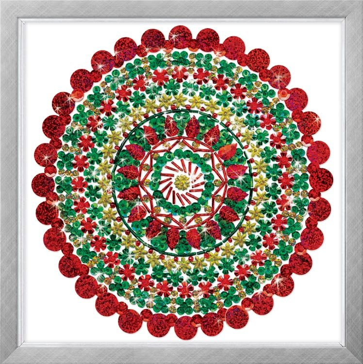 # 4408 Holiday Mandala - Zendazzle
