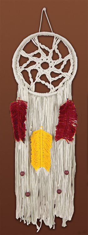 # 4459 Colorful Feather Dream Catcher
