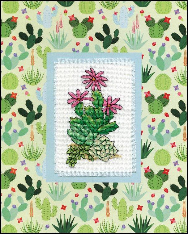 # 4472 Cactus Stitch & Mat