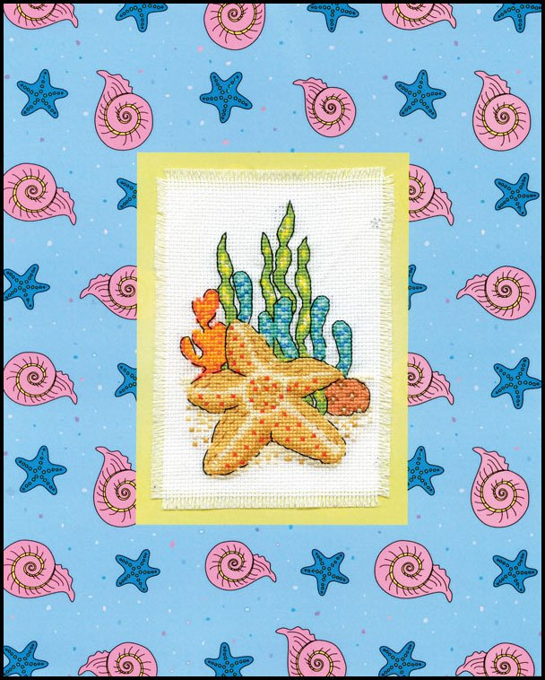 # 4477 Starfish Stitch & Mat