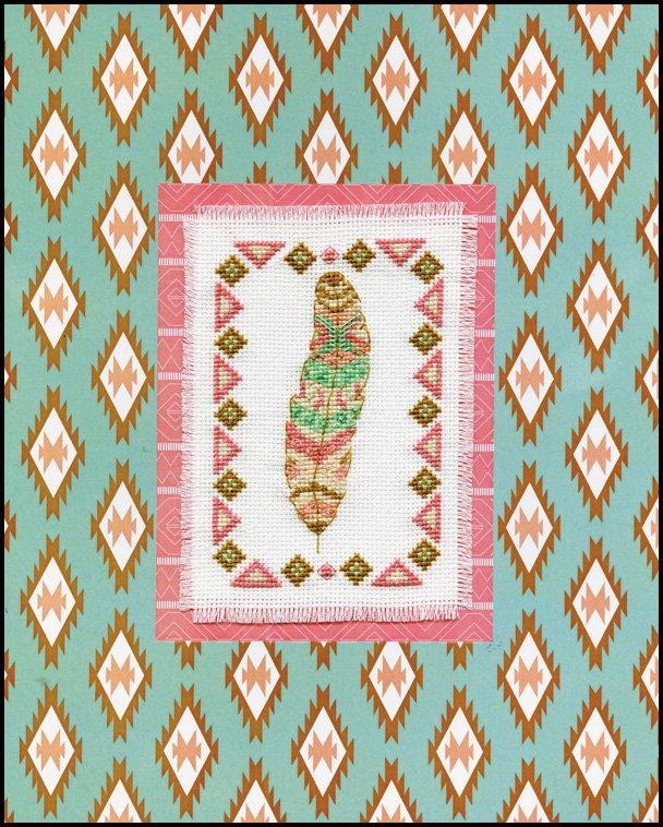 # 4478 Feather Stitch & Mat