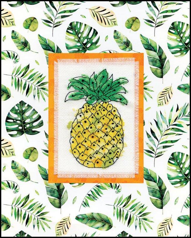 # 4481 Pineapple Stitch & Mat
