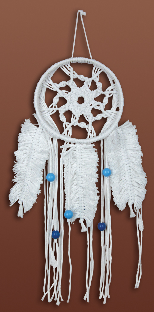 # 4520 Feathered Dream Catcher