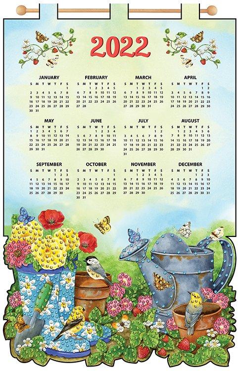 # 4586 Garden Scene