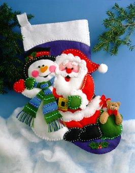 # 5032 Santa and Snowman