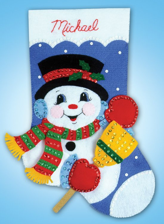 # 5055 Snowman With Broom
